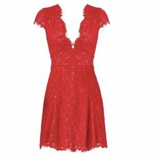 Red Lace StyleStalker Dress 🔥